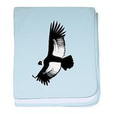 Soaring Hawk baby blanket