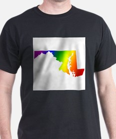 Maryland Gay Pride Ash Grey T-Shirt