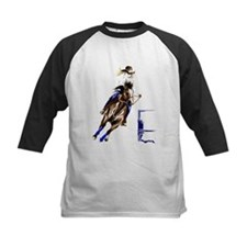 Barrel Horses Baseball Jersey