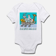 ANIMAL RESCUE Infant Bodysuit