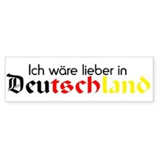 Germany Bumper Bumper Sticker