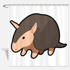 Cartoon Armadillo Shower Curtain