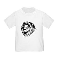 Lion Face Sketch T-Shirt