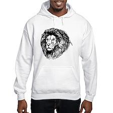 Lion Face Sketch Jumper Hoody