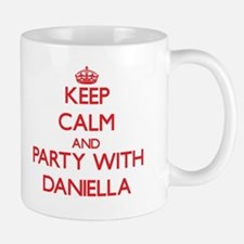 Keep Calm and Party with Daniella Mugs