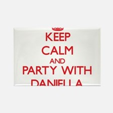 Keep Calm and Party with Daniella Magnets