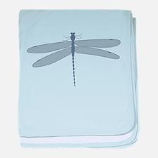 Dragonfly baby blanket