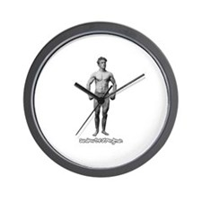 Sandow The Strongman Wall Clock