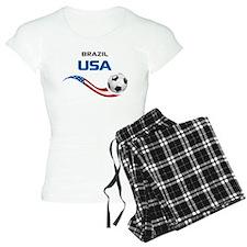 Soccer 2014 USA 1 Pajamas