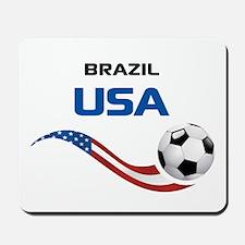 Soccer 2014 USA 1 Mousepad