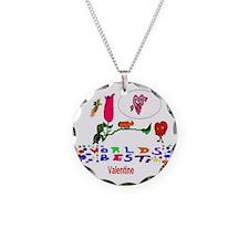 Worlds Best Valentine Necklace