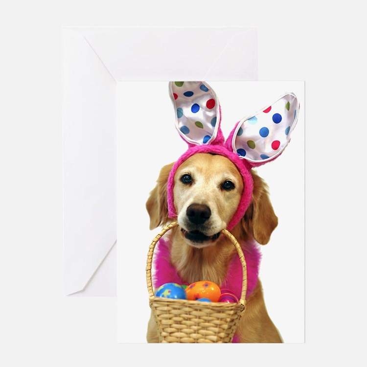 SNAPshotz Golden Easter Bunny Photocards Greeting