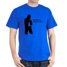Harmonica Lessons.com Logo Mens T-Shirt
