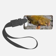 Flathead Catfish Rug Luggage Tag