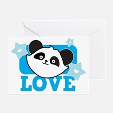 PANDA love Greeting Card