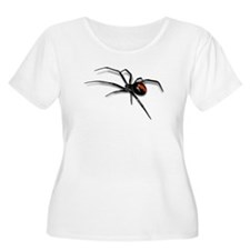 Red Back Spider Plus Size T-Shirt
