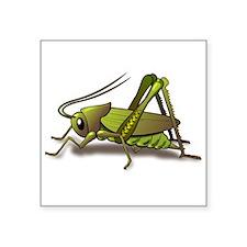 Green Cricket Sticker