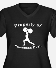 Property Of Strongman Dept Plus Size T-Shirt