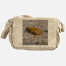 Catfish shower curtain Messenger Bag