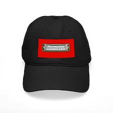 Harmonica Lessons.com Black Logo Cap