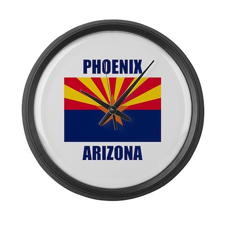 Phoenix Arizona Large Wall Clock
