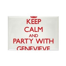 Keep Calm and Party with Genevieve Magnets