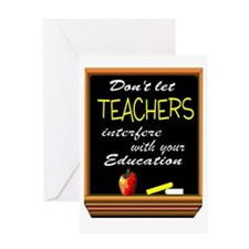TEACHERS Greeting Cards