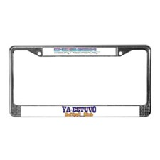 Unique Ya License Plate Frame