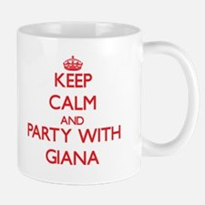Keep Calm and Party with Giana Mugs