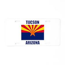Tucson Arizona Aluminum License Plate