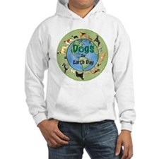 Earth Day Dogs Hoodie