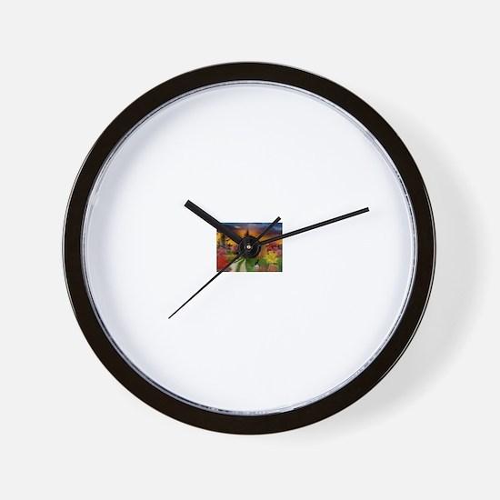 Spooky House Wall Clock