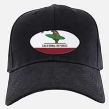California Surfing Bear Baseball Hat