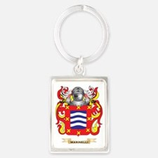 Marinelli Coat of Arms - Family  Portrait Keychain