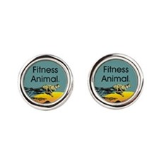 TOP Fitness Animal Cufflinks