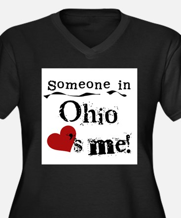 Someone in Ohio Plus Size T-Shirt