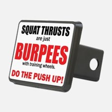 Squat Thrusts Hitch Cover