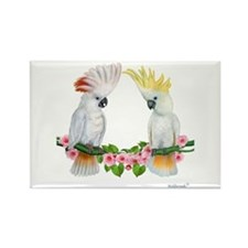 Cockatoo Rectangle Magnet