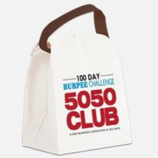 100 Day Burpee Challenge 5050 Clu Canvas Lunch Bag
