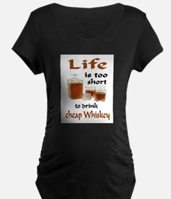 WHISKEY Maternity T-Shirt