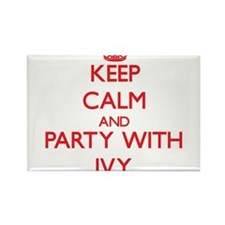 Keep Calm and Party with Ivy Magnets