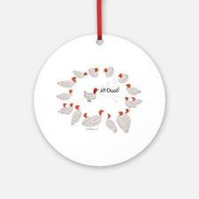 Avian Flu Ornament (Round)