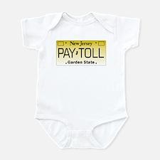 NJ Pay Toll Infant Bodysuit