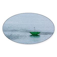 Floating Umbrella Decal