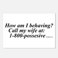 Call my wife Postcards (Package of 8)
