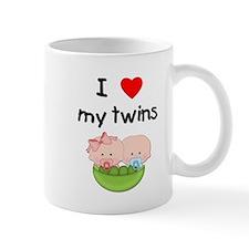 I love my twins (3) Mug