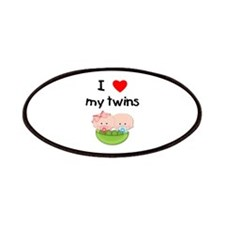 I love my twins (3) Patches