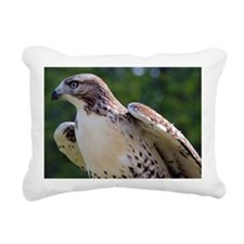 Just before take off Rectangular Canvas Pillow