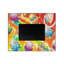 Happy Easter Eggs Design Picture Frame