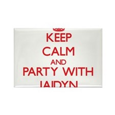 Keep Calm and Party with Jaidyn Magnets